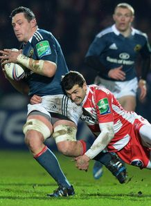 James Coughlan of Munster Heineken Cup v Gloucester