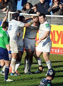 Leinster celebrate Castres v Leinster