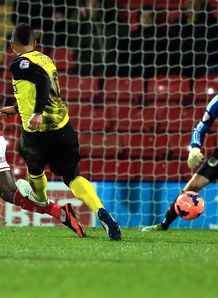 FA Cup: Watford seal place in fourth round with 2-0 win over Bristol City