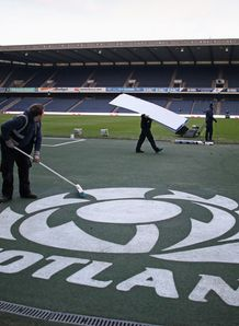 SKY_MOBILE Murrayfield Stadium pitch
