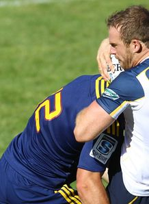 Pat McCabe Brumbies v Highlanders SR trial 2014