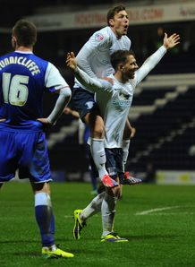 FA Cup: Joe Garner's hat-trick helps Preston beat Ipswich 3-2