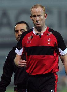 Referee Ian Davies