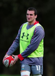 Sam Warburton Wales training 2013