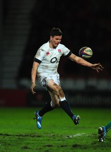 England Saxons: Freddie Burns' display defended by Jon Callard