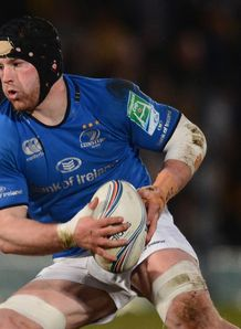 Sean O Brien in action for Leinster