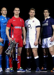 Six nations launch 2014 captains line up
