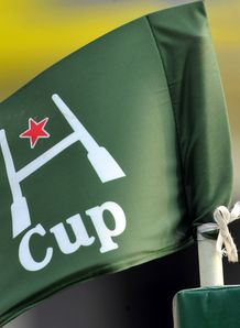 The official flag of the Heineken Cup rugby