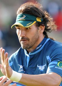 Victor Matfield Bulls training 2011