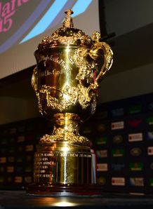 RUGBYU WORLD CUP CUP TROPHY