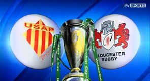 Perpignan v Gloucester - Highlights
