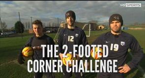 Two Footed Corner Challenge - Preston