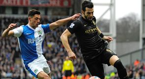Blackburn force replay with Man City