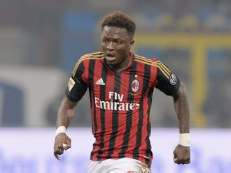 Muntari: Hoping for a surprise result