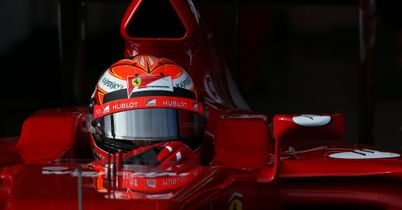 FORMULA 1 SPAIN SPANISH TEST TESTING ACTION KIMI RAIKKONEN FERRARI JEREZ DAY TWO