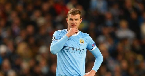 Dzeko's power and goal threat are vital for Man City, says Carra