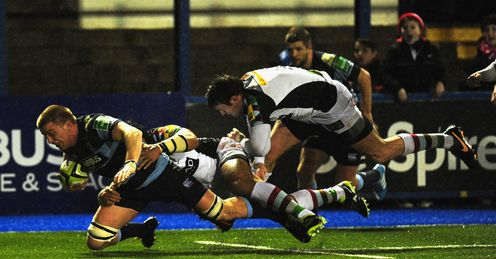 Macauley Cook Cardiff Blues v Harlequins
