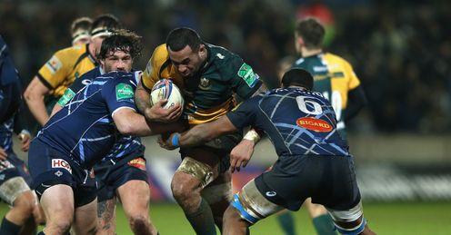 Samu Manoa Northampton Saints