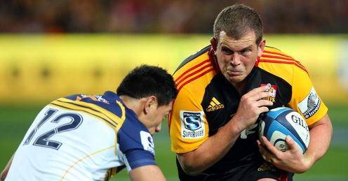 Toby Smith Chiefs v Brumbies SR 2013