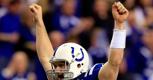 Luck: has the 'it' factor that teams look for in a quarter-back