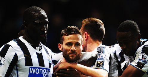 Cabaye: scored seven goals for Newcastle before his PSG switch.