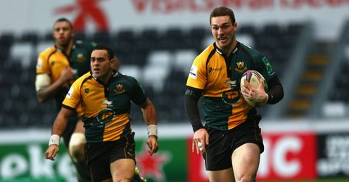 George North Northampton Saints Liberty Stadium Heineken Cup Rugby union