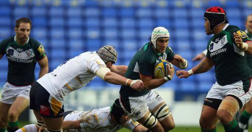 London Irish Blair Cowan Worcester Aviva Premiership