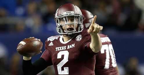 Manziel: will he emerge as the top pick?