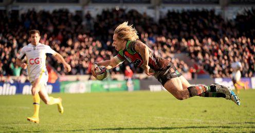 Matt Hopper Harlequins Twickenham Stoop Heineken Cup Rugby union