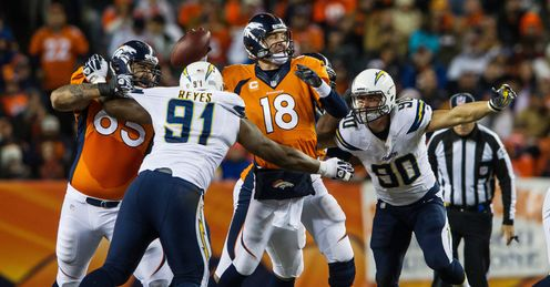 Peyton Manning: Will be up against a fearless Chargers team
