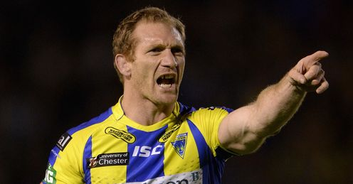 RUGBY RUGBY LEAGUE SUPER LEAGUE MONAGHAN WARRINGTON MICHAEL MONAGHAN