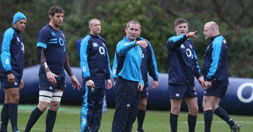 Rugby union Stuart Lancaster England head coach