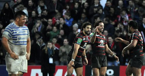 Toulouse: too strong for Saracens
