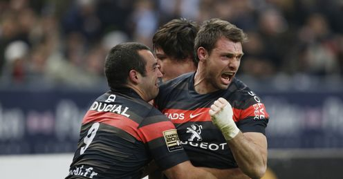 Vincent Clerc Rugby union Top 14 Toulouse