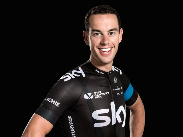 Sky cycling bikes and biking on pinterest for Richie porte cyclist