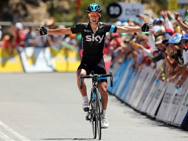 Richie Porte kicked the year off with a big win on Willunga Hill at the Tour Down Under