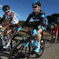 The first stage proved a day to remember with Team Sky forced to ride spare and borrowed bikes