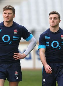 owen farrell george ford england training