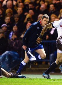 stuart hogg mike brown england scotland