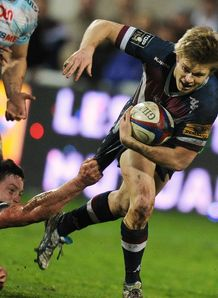 Blair Connor in action for Bordeaux Begles