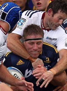 Brad Thorn Highlanders v Blues SR 2014