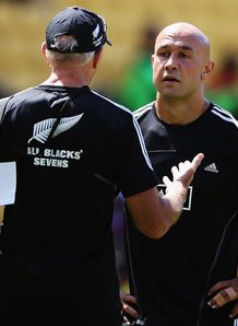 DJ Forbes and Gordon Tietjens NZ Sevens 2013