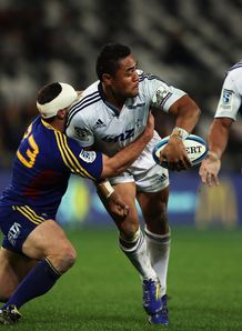 Francis Saili Blues v Highlanders SR 2013