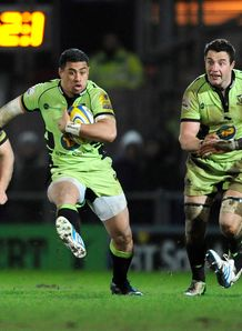 George Pisi Northampton Saints 2014