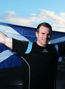 Glasgow Warrior s Chris Fusaro during a photocall