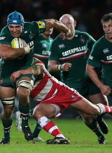 Graham Kitchener in action for Leicester Tigers