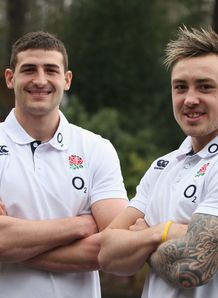 Jonny May and Jack Nowell Eng SN 2014