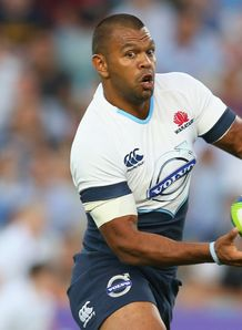 Kurtley Beale Waraths trial SR 2014