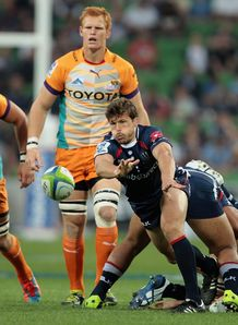 Luke Burgess Rebels v Cheetahs SR 2014