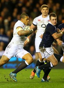 Luther Burrell Murrayfield 2014